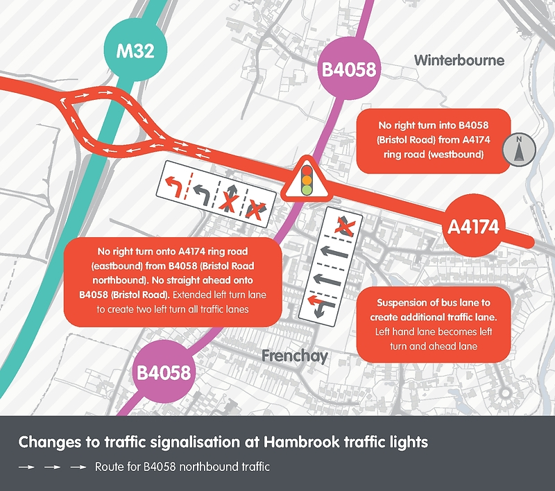 Hambrook Air Quality Traffic Signals Map